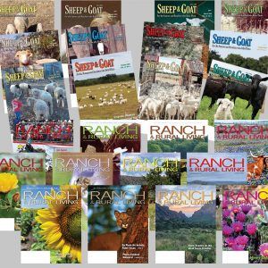 1 Year Subscription to Both Ranch & Rural Living and Sheep & Goat