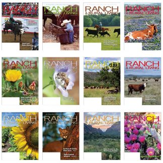 1 Year Subscription to Ranch & Rural Living -- 12 monthly issues